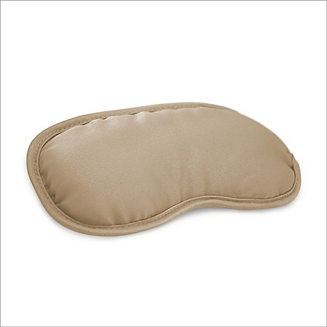 Night Spa Eye Mask with Cupron Technology in Tan