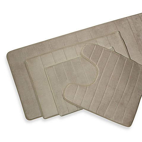 Luxury Sleep Innovations Memory Foam Bath Mats Set Of 2  Free Shipping On