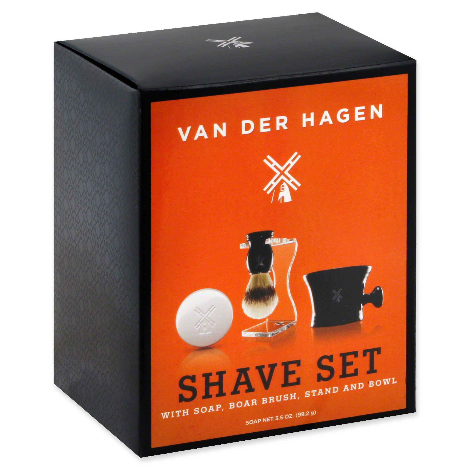 Van Der Hagen Boar Shave Set