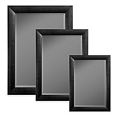 large decorative wall mirror. image of Hitchcock Butterfield Stitched Leather Wall Mirror in Black Mirrors  Large Small Decorative