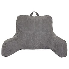 image of faux suede backrest