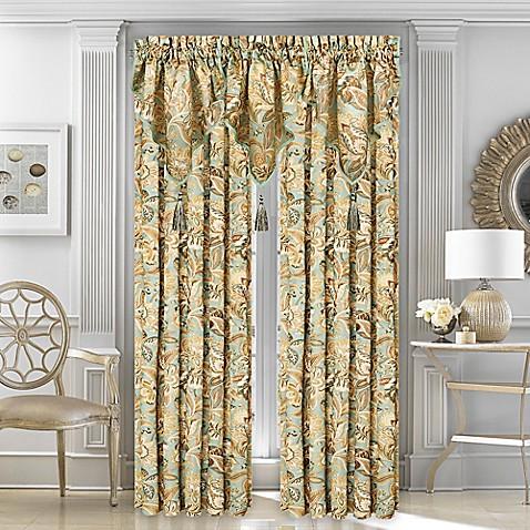 J Queen New York Ventura Window Curtain Panel And Ascot Valance Bed Bath Beyond