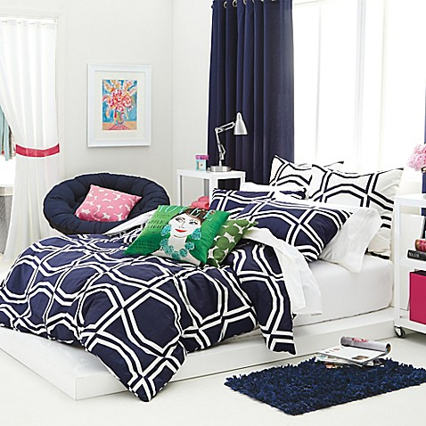 classic graphic kate spade new york bow bed bath beyond. Black Bedroom Furniture Sets. Home Design Ideas