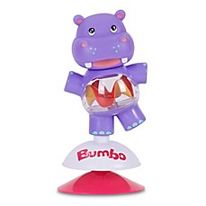 image of Bumbo Hildi the Hippo Suction Toy in Purple