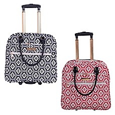 image of Jenni Chan Aria Snow Flake 17-Inch Business Tote