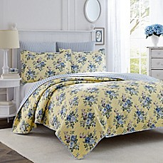 Laura ashley bed bath beyond laura ashley linley twin quilt set gumiabroncs Image collections