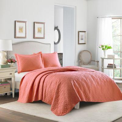 martha stewart bedding laura ashley solid quilt set - Martha Stewart Bedding