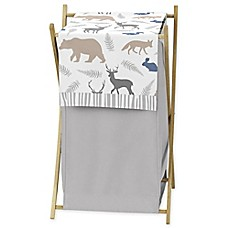 image of Sweet Jojo Designs Woodland Animals Laundry Hamper