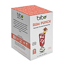 image of BIBO Rum Punch 18-Count Cocktail Mix Pouches