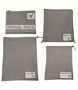 Latitude 40°N® Set de bolsas de viaje, 4 piezas