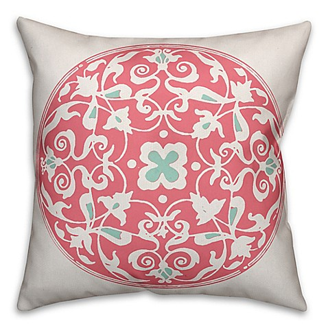 Throw Pillows Malum : Designs Direct Moroccan Circle Square Throw Pillow - Bed Bath & Beyond