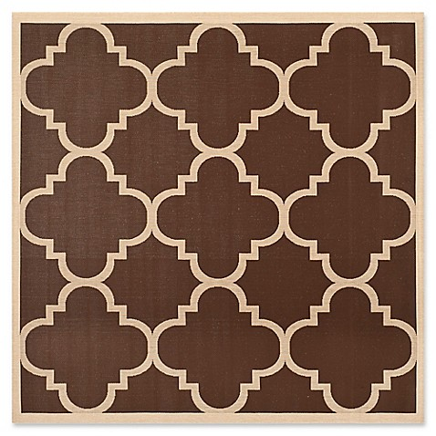Buy Safavieh Courtyard Geometric 7 Foot 10 Inch Square