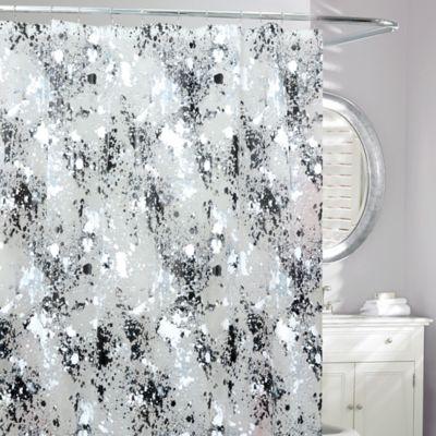 Black White Shower Curtains Bed Bath Beyond