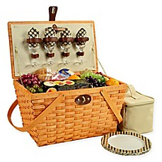 image of Picnic at Ascot Settler Picnic Basket for 4
