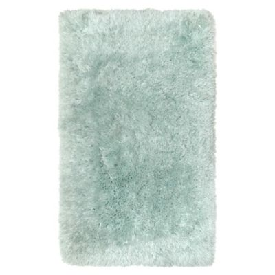 image of Paramount 2-Foot 2-Inch x 3-Foot 8-Inch Decorative Shag Bedside Rug