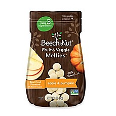 image of Beech-Nut® Stage 3 Fruit and Veggie Melties™ Pouch in Apple and Pumpkin