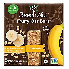 image of Beech-Nut® Stage 3 3.9 oz. Banana Fruity Oat Bars