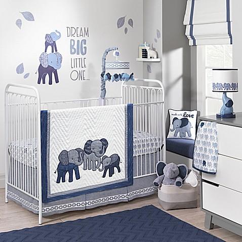 Lambs Amp Ivy 174 Elephant Crib Bedding Collection Buybuy Baby