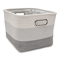 Image Of Lambs U0026 Ivy® Ombre Storage Basket In Grey