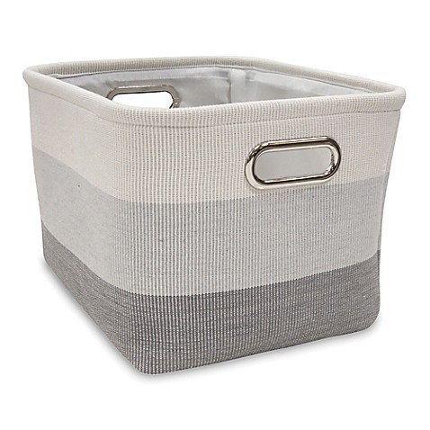 Lambs U0026 Ivyu0026reg; Ombre Storage Basket In Grey