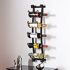 image of Southern Enterprises Ancona Wall Wine Rack