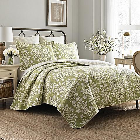 Laura ashley rowland quilt set bed bath beyond laura ashleyreg rowland quilt set gumiabroncs Choice Image