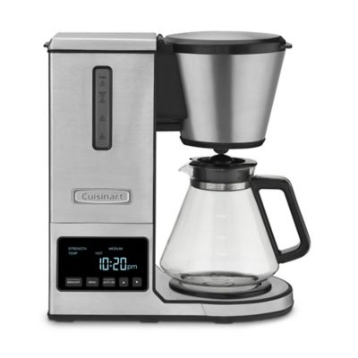 Bodum Pour Over Coffee Maker Bed Bath And Beyond : Cuisinart PurePrecision Pour-Over Coffee Brewer with Glass Carafe - Bed Bath & Beyond