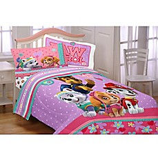 image of Paw Patrol Pals Comforter Set in Pink
