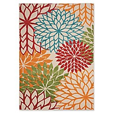 Nourison Aloha Fl Burst Indoor Outdoor Rug