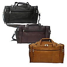 image of Piel® Leather Classic Travel Duffle with Side Pockets