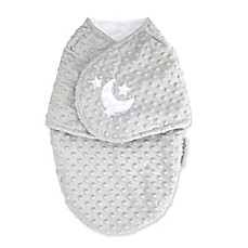 image of Blankets & Beyond Bump Moon Swaddle Blanket in Champagne