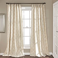 and fabric trellis blue curtain curtains white
