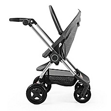 Stokke 174 Scoot Stroller In Black Melange