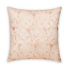 image of Glenna Jean Cottage Rose Throw Pillow in Pink