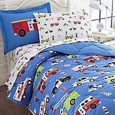 image of olive kids heroes 5piece twin bedding set in blue