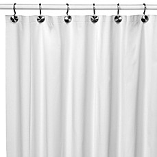 image of Eco Soft Ivory Shower Curtain Liner