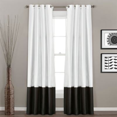 Buy Black and White Curtain Panels from Bed Bath & Beyond