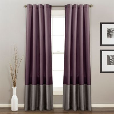 Buy Grey Grommet Curtains from Bed Bath & Beyond