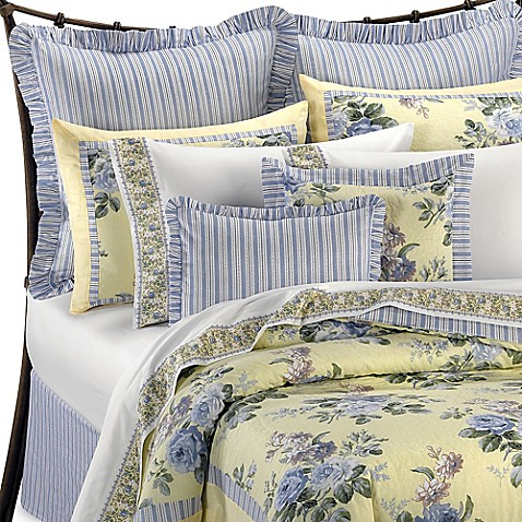 Laura Ashley 174 Caroline Reversible Comforter Set Bed Bath