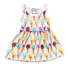image of Pickles N' Roses™ Ice Cream Cone Day Dress