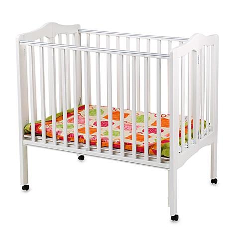 delta children 39 s portable crib in white bed bath beyond. Black Bedroom Furniture Sets. Home Design Ideas