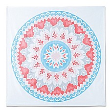 image of Hang Ten Surfboard Medallion Tapestry in Coral