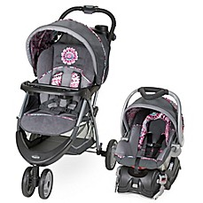 image of Baby Trend® EZ Ride 5 Stroller Travel System in Paisley