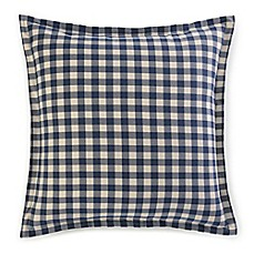image of Eddie Bauer® Kingston European Pillow Sham in Navy