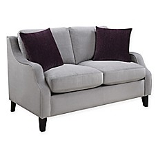 image of Donny Osmond Home Isabelle Love Seat in Graphite