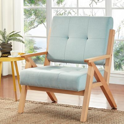 image of Verona Home Siva Mid-Century Accent Chair