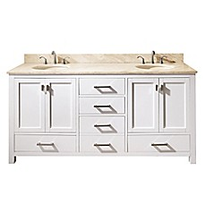 image of Avanity 1400 Bathroom Vanity Collection in White