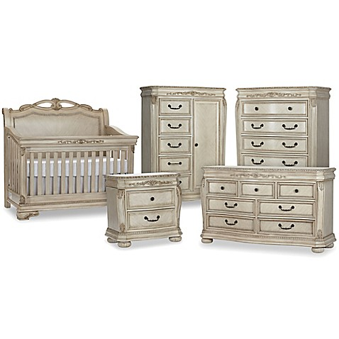 Kingsley Wessex Nursery Furniture Collection In Seashell