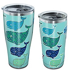 image of Tervis® Whale Pattern Stainless Steel Tumbler with Lid