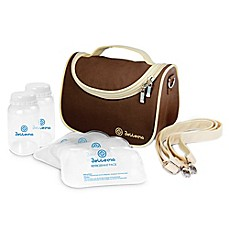 image of Bellama Breastmilk Insulated Cooler Bag in Brown